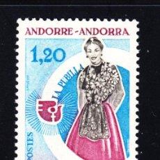 Sellos: ANDORRA 250** - AÑO 1975 - AÑO INTERNACIONAL DE LA MUJER. Lote 51005429