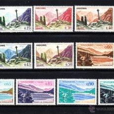 Sellos: ANDORRA 158/64** - AÑO 1961 - PAISAJES DE ANDORRA. Lote 52424746