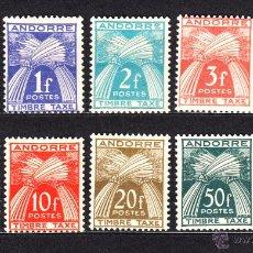 Sellos: ANDORRA TASA 32/41** - AÑO 1946 - GAVILLA DE TRIGO. Lote 52425197