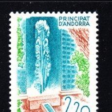 Sellos: ANDORRA 371** - AÑO 1988 - EL TERMALISMO EN ANDORRA - FUENTE TERMAL DE ESCALDES. Lote 150647222