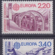 Sellos: ANDORRA FRANCES 1991 SERIE TEMA EUROPA NUEVO LUJO MNH *** SC. Lote 53101146
