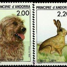 Sellos: ANDORRA-FR 1988- YV 0373/374 ***(NUEVO SIN/CH)(SERIE COMPLETA). Lote 53129099