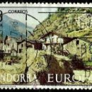 Sellos: ANDORRA-ESP 1977- ED 0108 (USADO). Lote 160611690