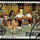 Sellos: ANDORRA-ESP 1981- ED 0140 (USADO). Lote 160612481