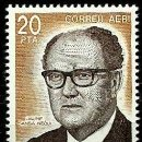 Sellos: ANDORRA-ESP 1983- ED 0173*** (NUEVO SIN/CH)(AEREO). Lote 160613218
