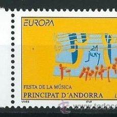 Sellos: ANDORRA FRANCESA 1998 FESTA DE LA MUSICA YVERT 504. Lote 53216218