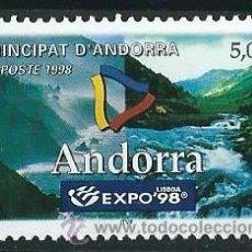 Sellos: ANDORRA FRANCESA 1998 YVERT 505 EXPO 98. Lote 53216324