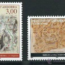 Sellos: ANDORRA FRANCESA 1998 MAPAS YVERT 508/509. Lote 53216461