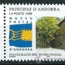 Sellos: ANDORRA FRANCESA 1998 MUSEO POSTAL YVERT 510. Lote 53216544