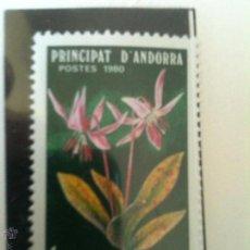 Sellos: ANDORRA FRANCESA-FLORES. Lote 54559855