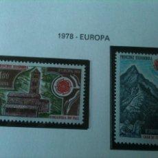 Sellos: ANDORRA FRANCESA-EUROPA. Lote 54560137