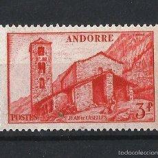 Sellos: ANDORRA FRANCESA 1948-51 PAISAJE DEL PRINCIPADO. Lote 57909870