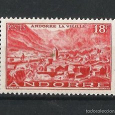 Sellos: ANDORRA FRANCESA 1948-51 PAISAJES DEL PRINCIPADO. Lote 57910063