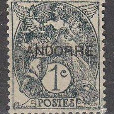 Sellos: ANDORRA FRANCESA IVERT Nº 2, NUEVO SIN GOMA. Lote 58671268