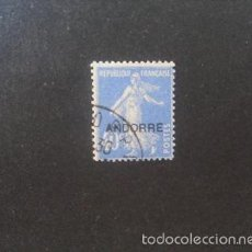 Sellos: ANDORRA FRANCESA,1931,EDIFIL 11,USADO,( LOTE RY). Lote 61125387