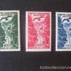 Sellos: ANDORRA FRANCESA,1955-1957,VALIRA ORIENTAL,EDIFIL 161-163**,COMPLETA,NUEVOS SIN FIJASELLO,( LOTE RY). Lote 61127271