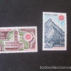 Sellos: ANDORRA FRANCESA,1978,EUROPA,EDIFIL 291-292**,COMPLETA,NUEVOS SIN FIJASELLO,( LOTE RY). Lote 61131275