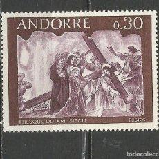 Sellos: ANDORRA FRANCESA YVERT NUM. 192 ** NUEVO SIN FIJASELLOS. Lote 66004806