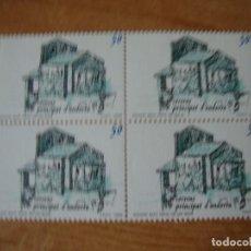 Sellos: ANDORRA ESPAÑOLA EDIFIL 215 BLOQUE DE 4 PERFECTOS. Lote 74453315