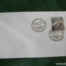 Sellos: ANDORRA - TIPOS DIVERSOS 1963 - EDIFIL 60 PRIMER DIA DE CIRCULACION EN SOBRE BLANCO. Lote 74698235