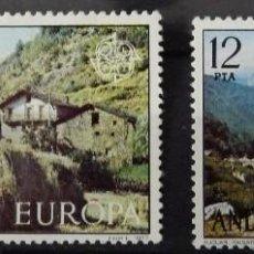Sellos: ANDORRA- SELLOS DE EUROPA, NUEVOS. Lote 74867063