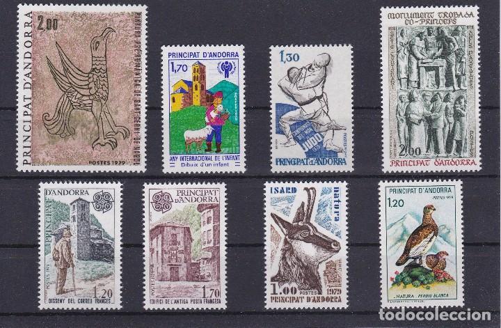 AÑO 1979 COMPLETO DE SELLOS DE ANDORRA FRANCESA EN NUEVO (Sellos - Extranjero - Europa - Andorra)