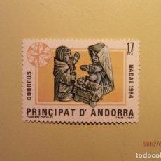 Sellos: 1984 - ANDORRA - NAVIDAD - EDIFIL 183 - NUEVO. Lote 82021872