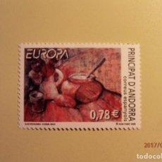 Sellos: 2005 - ANDORRA - EUROPA - EDIFIL 329 - BODEGÓN - CARMEN MÁS - NUEVO. Lote 82059908