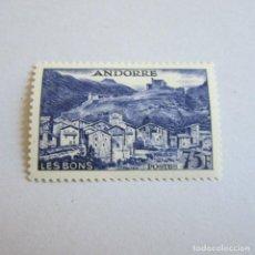 Sellos: ANDORRA 1955-58, ANFIL Nº 153*,PAISAJES FIJASELLOS. Lote 90199300
