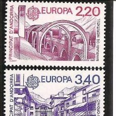 Sellos: SELLOS NUEVOS DE ANDORRA FRANCESA, EUROPA YT 358/ 59. Lote 103610659
