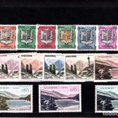 Selos: ANDORRA FRANCESA 1961-1971 NUMS 164 A 180 NUEVOS SIN SEÑAL DE FIJASELLOS. Lote 107792567