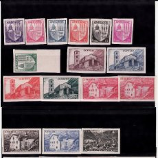 Sellos: ANDORRA FRANCESA 1944-1946 NUMS 95 A 121-EXCEPTO EL 111-- SIN DENTAR SIN FIJASELLOS . Lote 107792795