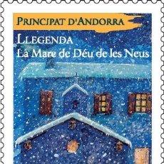 Sellos: FRENCH ANDORRA 2018 - LLEGENDA MNH. Lote 110250159