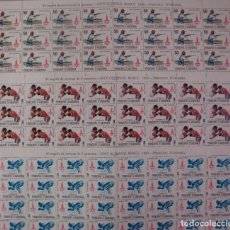 Sellos: ANDORRA - ***JUEGOS OLIMPICOS DE MOSCU*** - EDIFIL 135-137 - 80 SERIES (1 PLIEGO X 3 VALORES = 3). Lote 111185583