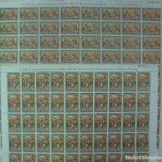 Sellos: ANDORRA - ***NAVIDAD 1980*** - EDIFIL 138-139 - 80 SERIES (1 PLIEGO X 2 VALORES = 2). Lote 111185851