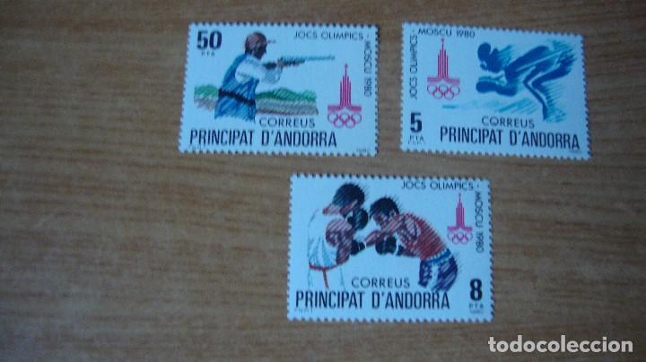 ANDORRA ESPAÑOLA EDIFIL 135/137 NUEVOS PERFECTOS (Sellos - Extranjero - Europa - Andorra)