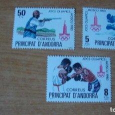Sellos: ANDORRA ESPAÑOLA EDIFIL 135/137 NUEVOS PERFECTOS. Lote 114282590