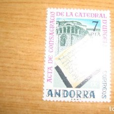 Sellos: ANDORRA ESPAÑOLA EDIFIL 99 NUEVOS PERFECTOS. Lote 114283016