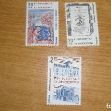 Sellos: ANDORRA ESPAÑOLA EDIFL 163/65 NUEVOS PERFECTOS. Lote 114283111