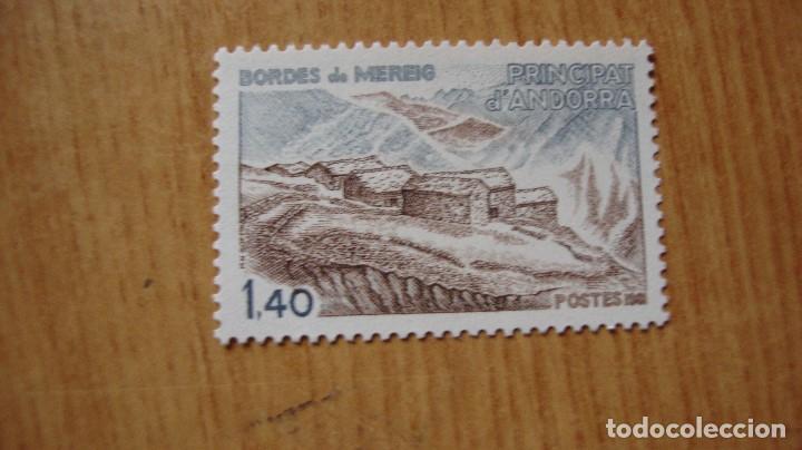 ANDORRA FRANCESA YERT 291 NUEVO SIN CHARNELAS (Sellos - Extranjero - Europa - Andorra)