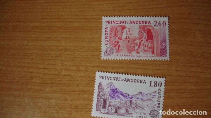 ANDORRA FRANCESA YERT 313/14 TEMA EUROPA NUEVOS PERFECTOS (Sellos - Extranjero - Europa - Andorra)