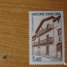 Sellos: ANDORRA FRANCESA YVERT 326 NUEVO PERECTO. Lote 113286763