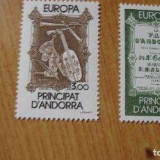 Sellos: ANDORRA FRANCESA YVERT 389/40 TEMA EUROPA NUEVOS PERFECTOS. Lote 113287787