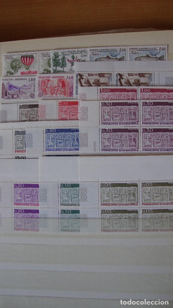 ANDORRA FRANCESA AÑO 1983 COMPLETO BLOUE DE PERFECTAS (Sellos - Extranjero - Europa - Andorra)