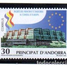 Sellos: ANDORRA.- CATÁLOGO YVERT 245, SERIE COMPLETA EN NUEVO. Lote 117347575