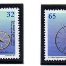 Sellos: ANDORRA.- CATÁLOGO YVERT 251/52, SERIE COMPLETA EN NUEVO. Lote 117347999