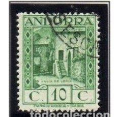 Timbres: ANDORRA.- CATÁLOGO EDIFIL Nº 17D, EN USADO. Lote 117361555