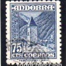 Sellos: ANDORRA.- CATÁLOGO EDIFIL Nº 52, EN USADO. Lote 117362171