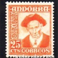 Sellos: ANDORRA.- CATÁLOGO EDIFIL Nº 49, EN NUEVO. Lote 117362519