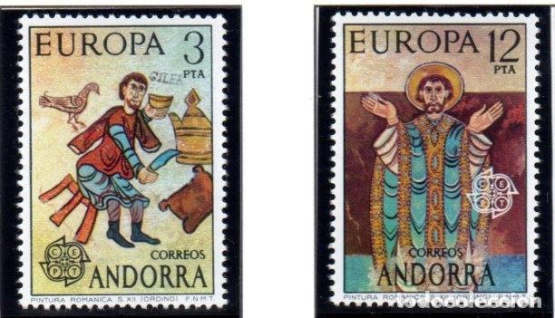 ANDORRA.- CATÁLOGO EDIFIL Nº 89/90, EN NUEVO (Sellos - Extranjero - Europa - Andorra)